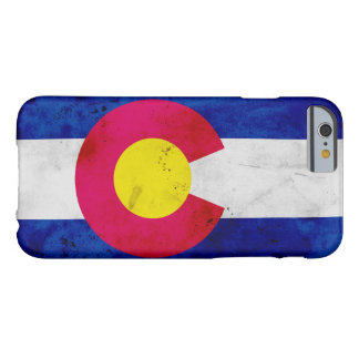 Capa Barely There Para iPhone 6 Bandeira patriótica do estado de Colorado do