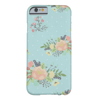 Capa Barely There Para iPhone 6 Beauty seamless floral pattern