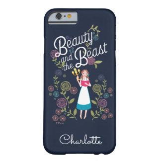 Capa Barely There Para iPhone 6 Beleza do Belle | e o animal