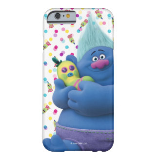 Capa Barely There Para iPhone 6 Biggie dos troll | & Sr. Dinkles