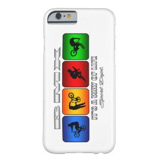 Capa Barely There Para iPhone 6 BMX legal é um modo de vida