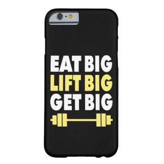 Capa Barely There Para iPhone 6 Bodybuilding - coma grande, levantam grande, obtêm