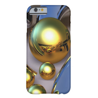 Capa Barely There Para iPhone 6 Bolas abstratas do ouro
