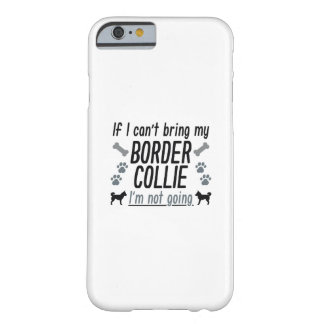 Capa Barely There Para iPhone 6 Border collie