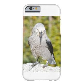 Capa Barely There Para iPhone 6 branco do exemplo do pássaro do iphone 6S