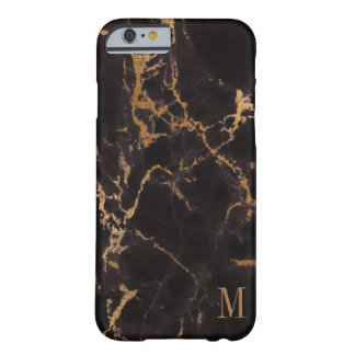 Capa Barely There Para iPhone 6 Brilho na moda do ouro