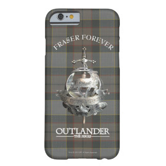 Capa Barely There Para iPhone 6 Broche do Outlander | Fraser