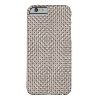 Capa Barely There Para iPhone 6 Brown Louis Vuitton denomina o caso