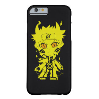 Capa Barely There Para iPhone 6 Caixa amarela do iPhone 6-6s do menino do Anime