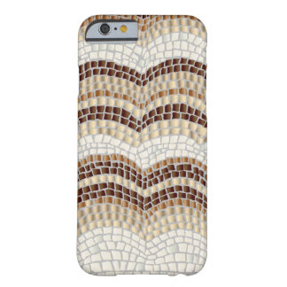 Capa Barely There Para iPhone 6 Caixa bege do iPhone 6/6s do mosaico