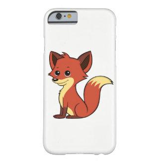Capa Barely There Para iPhone 6 Caixa branca do iPhone 6 do Fox dos desenhos