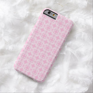 Capa Barely There Para iPhone 6 Caixa branca do iPhone 6 do teste padrão floral