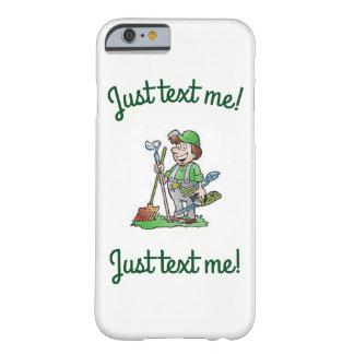 Capa Barely There Para iPhone 6 Caixa branca verde acessível do iphone 6/6S do