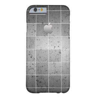 Capa Barely There Para iPhone 6 Caixa cinzenta do iphone 6s da cor - teste padrão