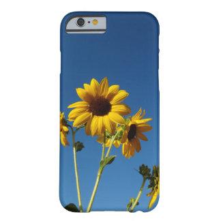 Capa Barely There Para iPhone 6 Caixa da foto do girassol & da abelha