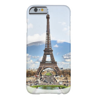 Capa Barely There Para iPhone 6 Caixa da torre Eiffel (iPhone 6/6s)