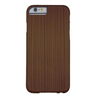 Capa Barely There Para iPhone 6 Caixa de madeira do executivo do bordo do falso