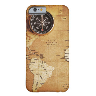CAPA BARELY THERE PARA iPhone 6 CAIXA DE MAPA