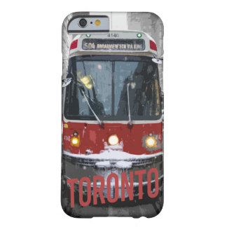 Capa Barely There Para iPhone 6 caixa do eléctrico de Toronto do iPhone