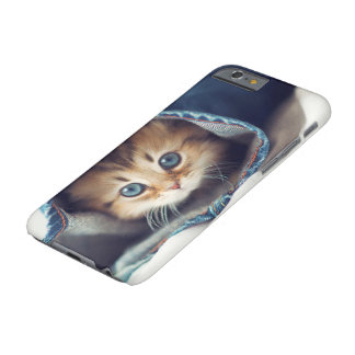 Capa Barely There Para iPhone 6 Caixa do gatinho