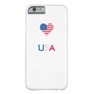 Capa Barely There Para iPhone 6 Caixa do telemóvel 6/6s dos EUA