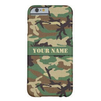 Capa Barely There Para iPhone 6 Caixa personalizada do iPhone 6 da camuflagem da