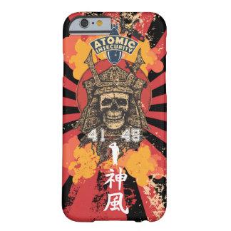 Capa Barely There Para iPhone 6 Caixa preta de Japão do Shogun do Kamikaze