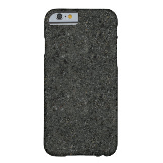 Capa Barely There Para iPhone 6 Caixa revestida concreta escura do iPhone 6