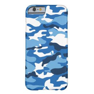 Capa Barely There Para iPhone 6 Caixa urbana azul de Camo iPhone6