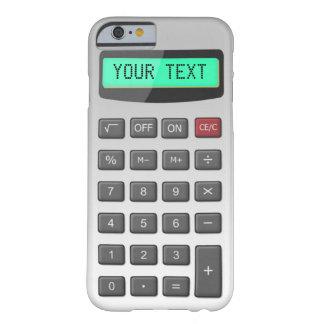 Capa Barely There Para iPhone 6 Calculadora