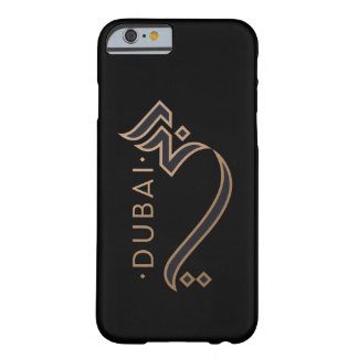 Capa Barely There Para iPhone 6 caligrafia árabe moderna - Dubai