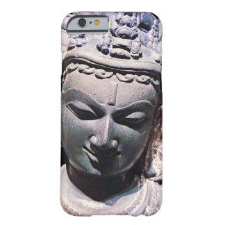 Capa Barely There Para iPhone 6 Calma, foto de pedra asiática do Fim-acima da