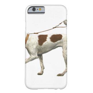 Capa Barely There Para iPhone 6 Caminhante do cão - cauda do cão - santo Germano