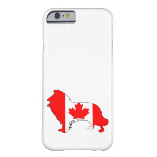 Capa Barely There Para iPhone 6 Canadá border collie