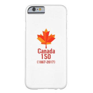 Capa Barely There Para iPhone 6 CANADÁ feliz 150 anos de bandeira canadense legal