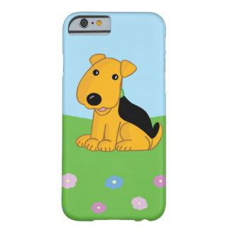 Capa Barely There Para iPhone 6 Cão de Airedale Terrier no caso do iPhone 6/6s do