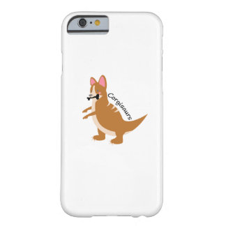 Capa Barely There Para iPhone 6 Cão do amor de T-Rex Corgisaurs dos dinossauros do