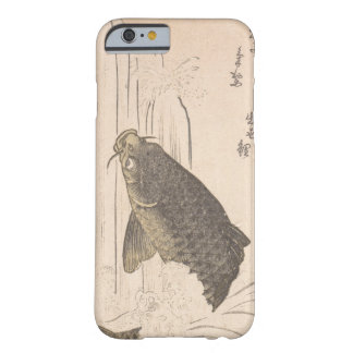Capa Barely There Para iPhone 6 Carpa de Kurokawa Michita que tenta nadar acima da