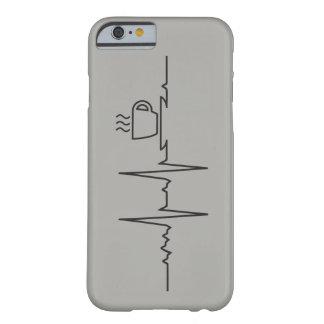Capa Barely There Para iPhone 6 Case Meu coração bate por Café