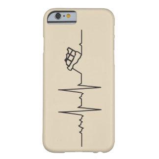 Capa Barely There Para iPhone 6 Case Meu coração bate por Chocolate