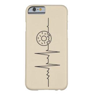 Capa Barely There Para iPhone 6 Case Meu coração bate por Donuts
