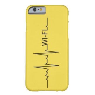 Capa Barely There Para iPhone 6 Case Meu coração bate por Wi-Fi