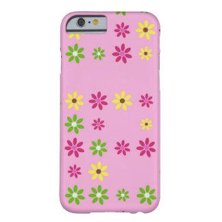 Capa Barely There Para iPhone 6 Caso 6 ou 6s cor-de-rosa do iPhone do jardim