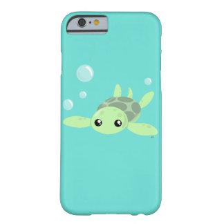 Capa Barely There Para iPhone 6 Caso bonito de Smartphone da tartaruga de mar