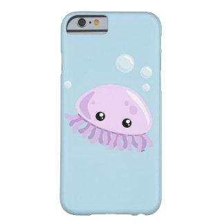 Capa Barely There Para iPhone 6 Caso bonito de Smartphone das medusa