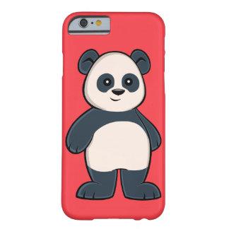 Capa Barely There Para iPhone 6 Caso bonito do iPhone 6 da panda dos desenhos