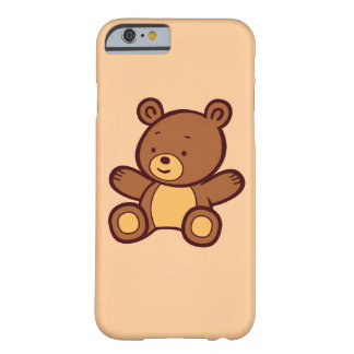 Capa Barely There Para iPhone 6 Caso bonito do iPhone 6 do urso de ursinho dos
