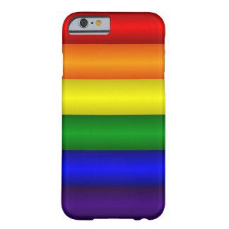 Capa Barely There Para iPhone 6 Caso de Iphone 6 do arco-íris