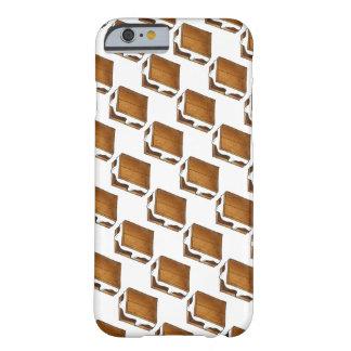 Capa Barely There Para iPhone 6 Caso de Smore do acampamento do Marshmallow de