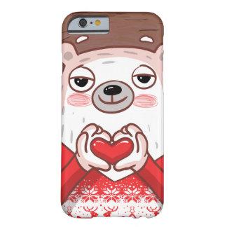 Capa Barely There Para iPhone 6 Caso do amor de Pampu